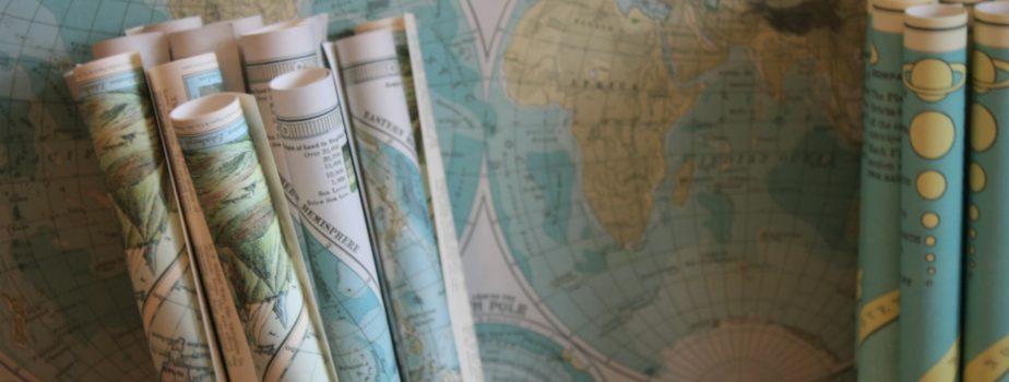 Interaktive Zeitmaschine mit historischen Karten (Chronoscope Mainz)