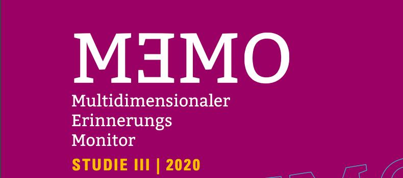 Am 5. Mai 2021 werden die Ergebnisse der aktuellen Memo-Studie vorgestellt