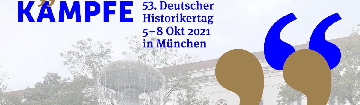 (Vorab-)Informationen zum 53. Historikertag in München